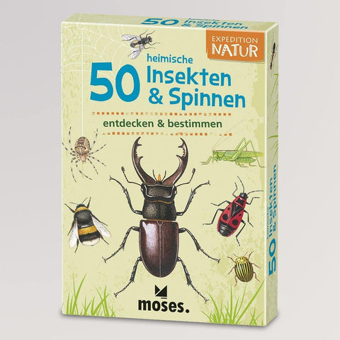 Expedition Natur - 50 Insekten & Spinnen von Moses