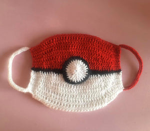 Pokeball Face Mask Cover