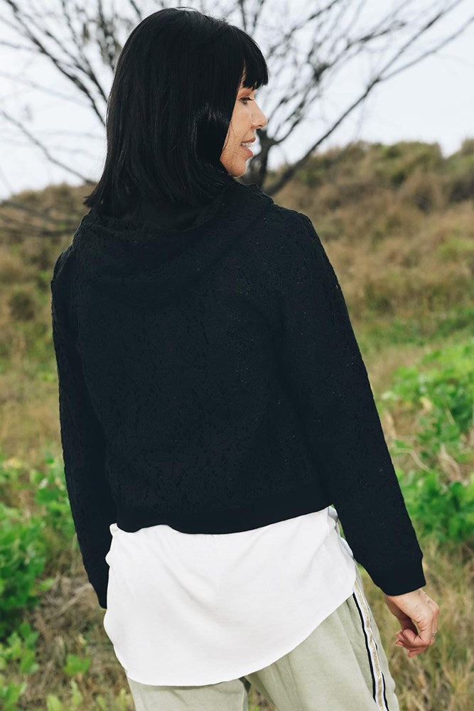 Lace Jacket Black - Kabana Shop