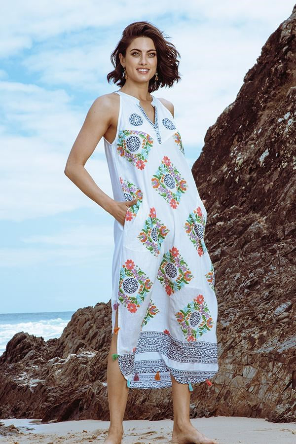 Demi Maxi White - Kabana Shop