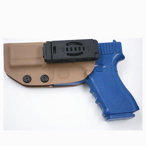 kydex OWB Holster For Glock 17 19 22 23 25 26 27 28 31 32 34 gen 3 4 5 Outside Waistband Carry case Quick belt Clips