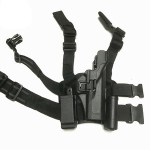 Tactical Leg Holster Army Airsoft Hunting Shooting Gun Case For Glock 17 19 22 23 31 32 Pistol Leg Holster With Magazine Pouch