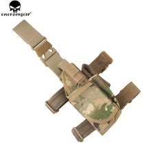 Load image into Gallery viewer, EMERSONGEAR Drop Leg Holster Tactical Hunting Right Hand Gun Holster AdjustableThigh Hardness Pistol Holster Multicam EM6204