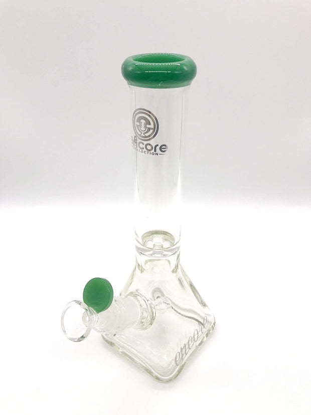 "Smoke Station Water Pipe 10"" Pyramid beaker from Encore"