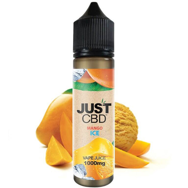 Just CBD Vape Juice - Mango Ice