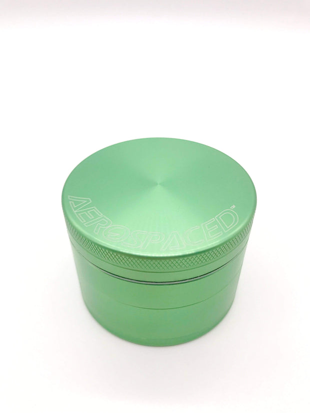 Smoke Station Accessories Green / 63mm Aerospaced Large Anodized Aluminum Grinder (63mm)