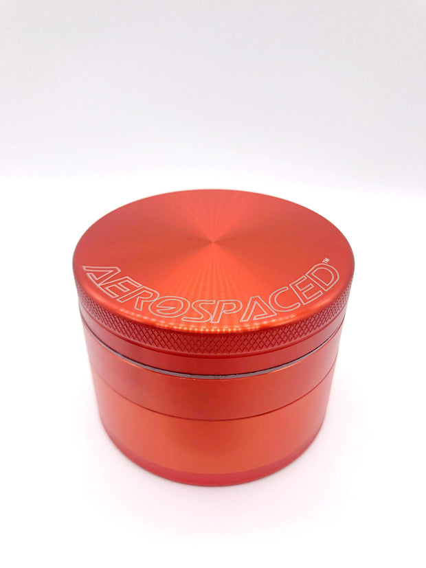 Smoke Station Accessories Orange / 2.48in / 63mm Aerospaced Large Anodized Aluminum Grinder (63mm)