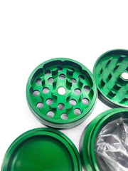 Smoke Station Accessories Aerospaced Medium Anodized Aluminum Grinder (50mm)