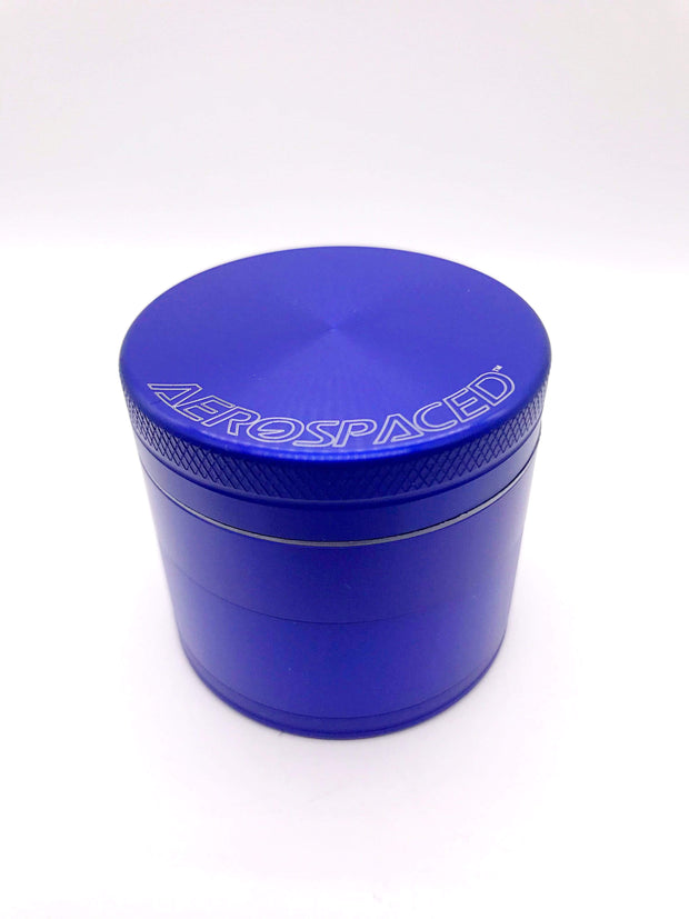 Smoke Station Accessories Blue / 50mm Aerospaced Medium Anodized Aluminum Grinder (50mm)