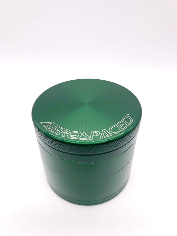 Smoke Station Accessories Green / 50mm Aerospaced Medium Anodized Aluminum Grinder (50mm)