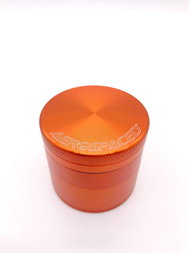 Smoke Station Accessories Orange / 50mm Aerospaced Medium Anodized Aluminum Grinder (50mm)