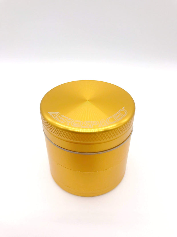 Smoke Station Accessories Gold / 1.57in / 40mm Aerospaced Small Anodized Aluminum Grinder (40mm)