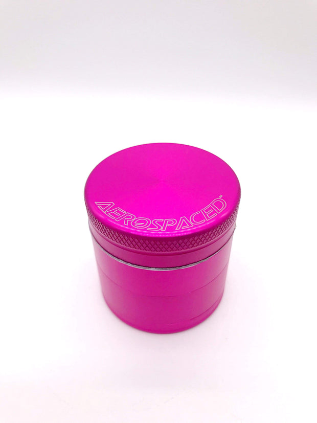 Smoke Station Accessories Hot Pink / 40mm Aerospaced Small Anodized Aluminum Grinder (40mm)