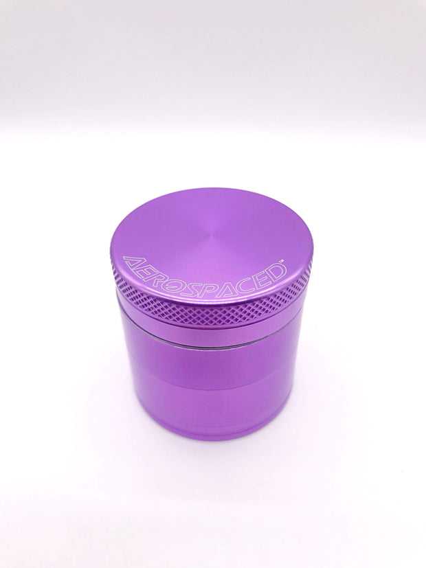 Smoke Station Accessories Purple / 40mm Aerospaced Small Anodized Aluminum Grinder (40mm)