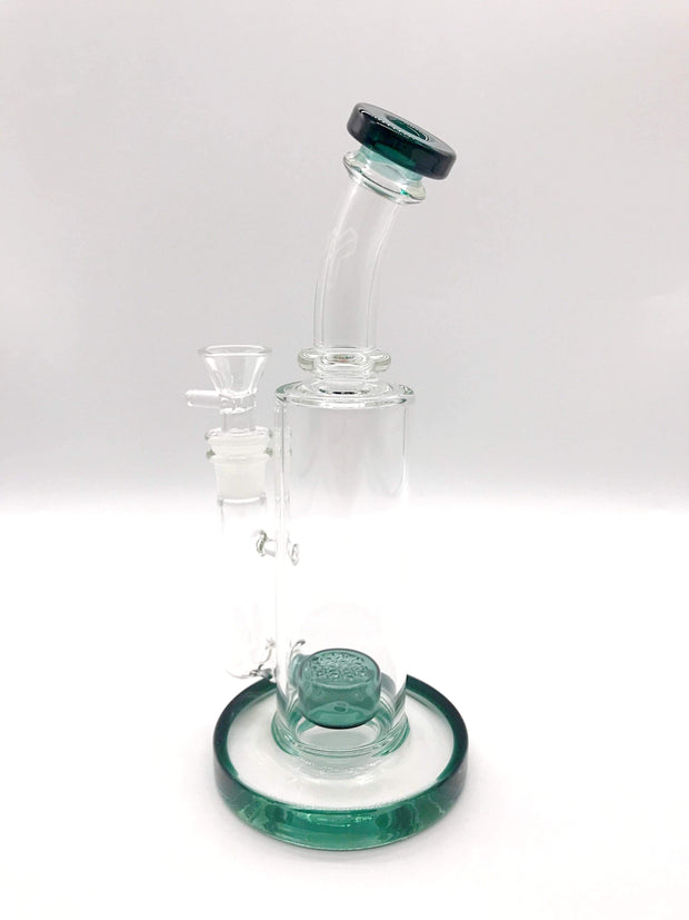 Smoke Station Water Pipe Emerald American flower of life Rig