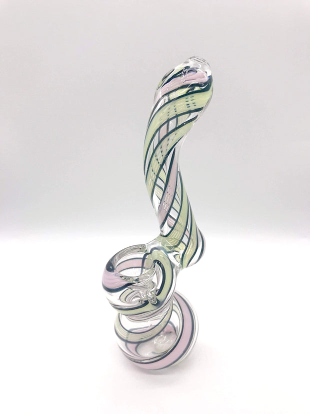 "Smoke Station Water Pipe American Slyme Color Bubbler (5"" tall)"