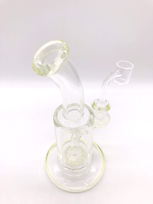 Smoke Station Water Pipe (UV) Ultra Violet American UV Reactive Scientific Rig