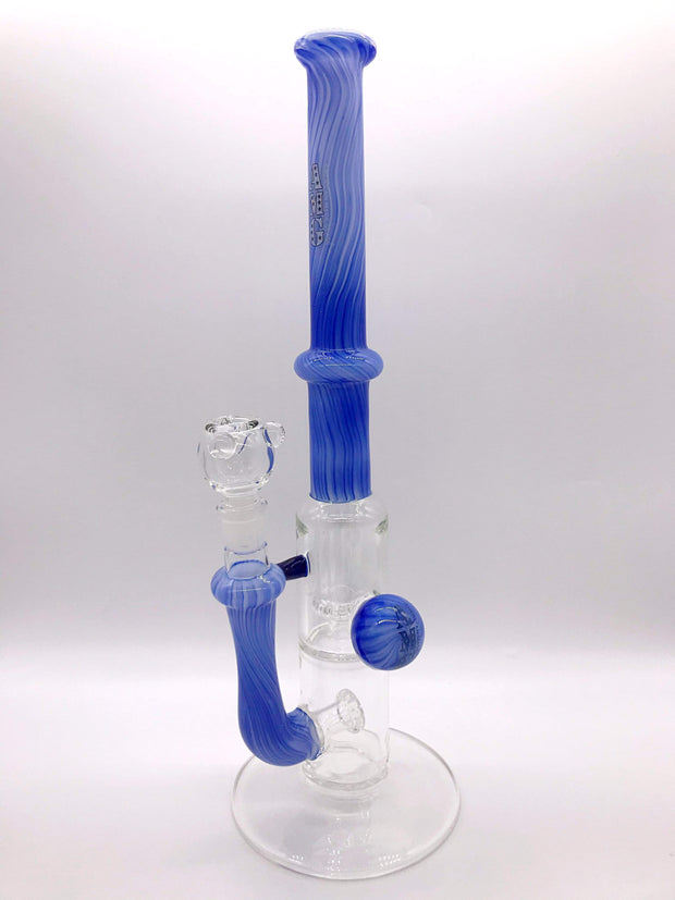 Smoke Station Water Pipe AMG Heady American Two-Chamber Perc Tube
