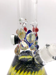 Smoke Station Water Pipe AMG Thick American Boro Heady Beaker with Millie