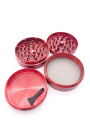 Smoke Station Accessories Classic Anodized Aluminum Grinder (63mm)