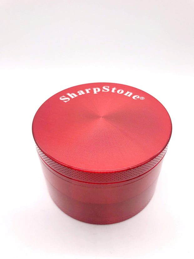 Smoke Station Accessories Red / 63mm Classic Anodized Aluminum Grinder (63mm)