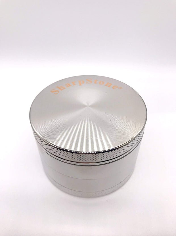 Smoke Station Accessories Silver / 63mm Classic Anodized Aluminum Grinder (63mm)
