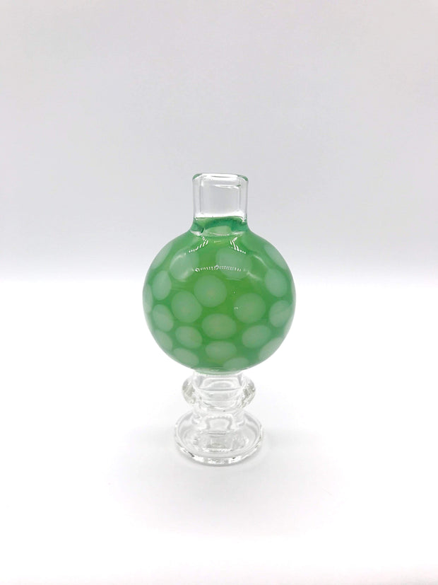 Smoke Station Accessories Green Classic Honeycomb Bubble Carb Cap