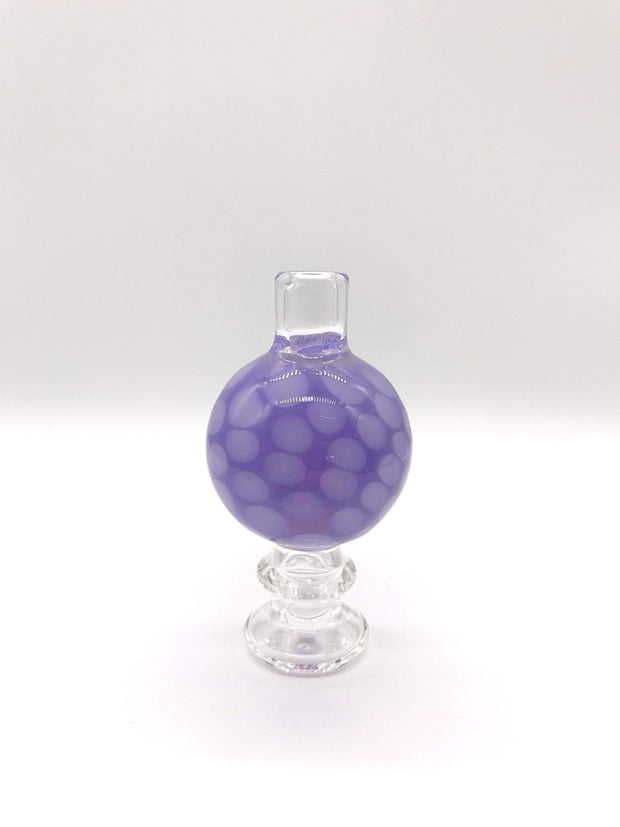 Smoke Station Accessories Purple Classic Honeycomb Bubble Carb Cap