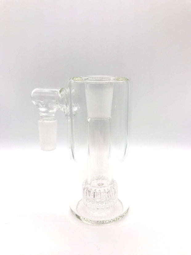 Smoke Station Ash Catchers Clear ash catcher with matrix perc 14mm Male 45°, 90° joint