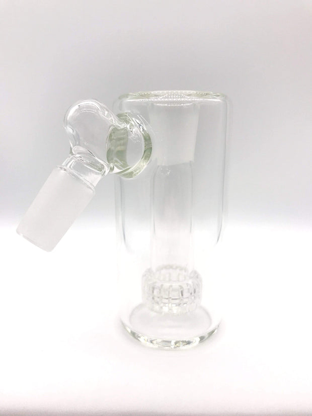 Smoke Station Ash Catchers Clear 45° Clear ash catcher with matrix perc 14mm Male 45°, 90° joint