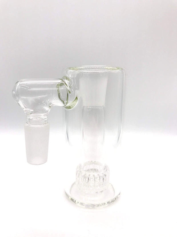 Smoke Station Ash Catchers Clear 90° Clear ash catcher with matrix perc 14mm Male 45°, 90° joint