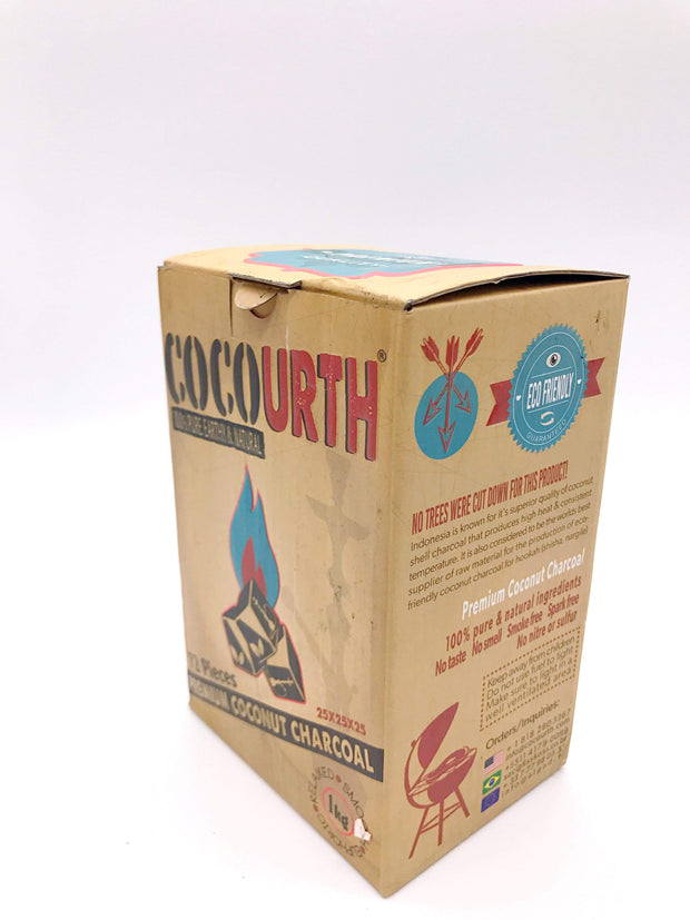 Smoke Station Hookah 25mm Cocourth Natural Coconut Charcoal