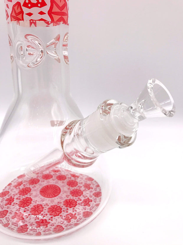 Smoke Station Water Pipe Colorful Heady Thick Beaker