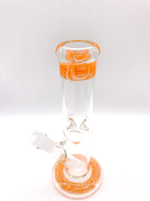 "Smoke Station Water Pipe Copy of 5mm Thick American Color Water Pipe (10"" tall 14mm)"
