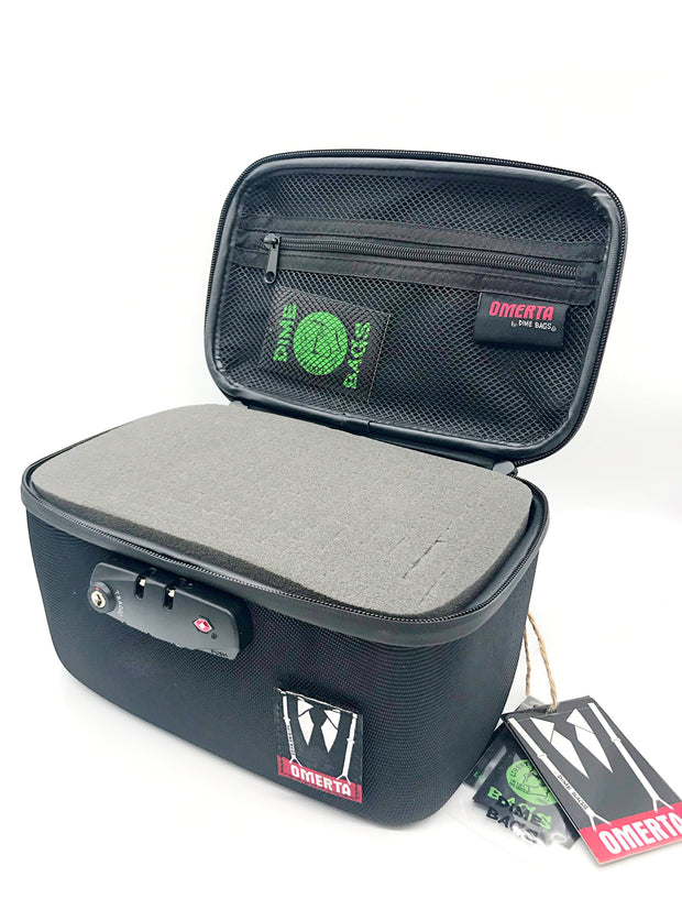 Smoke Station Dime Bags Omerta Soldier Smell Proof Lock Box | Hard Case With Combination Lock