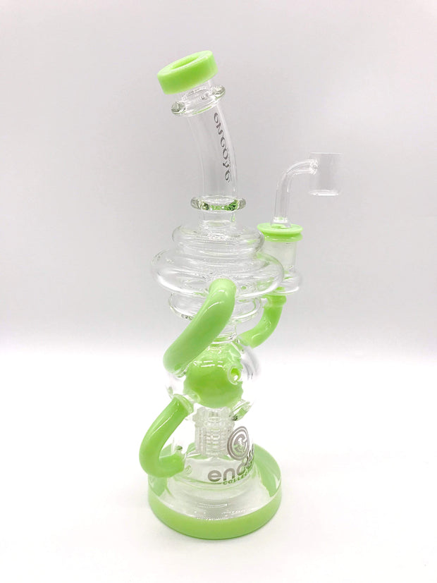 Smoke Station Water Pipe Encore Matrix Fab Egg Recycler Rig