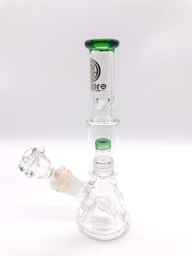 Smoke Station Water Pipe Green Encore Mini Salt Shaker Water Pipe