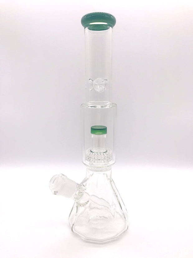 "Smoke Station Water Pipe Encore Salt Shaker Water Pipe (13"" tall 14mm)"