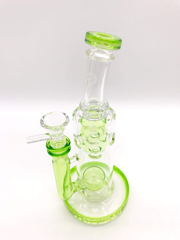 Smoke Station Water Pipe Flower of Life Mini-Fab Water Pipe