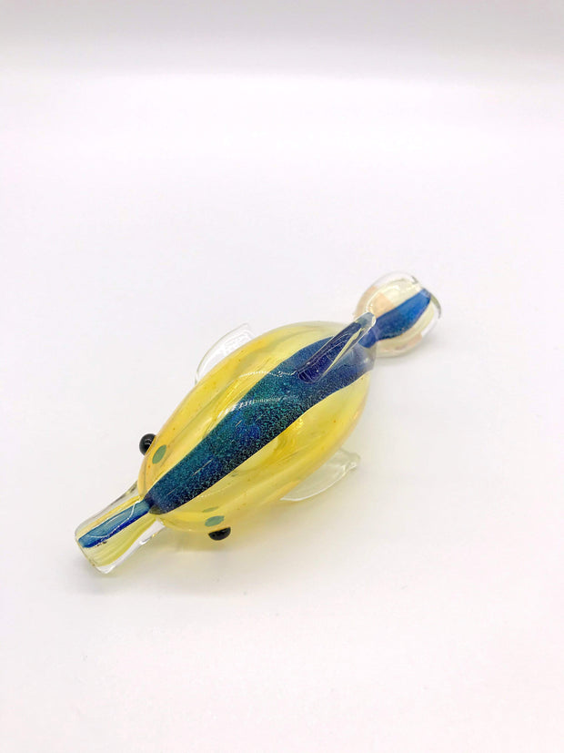 Smoke Station Hand Pipe Hand-Blown American Borosilicate Dolphin Hand Pipe