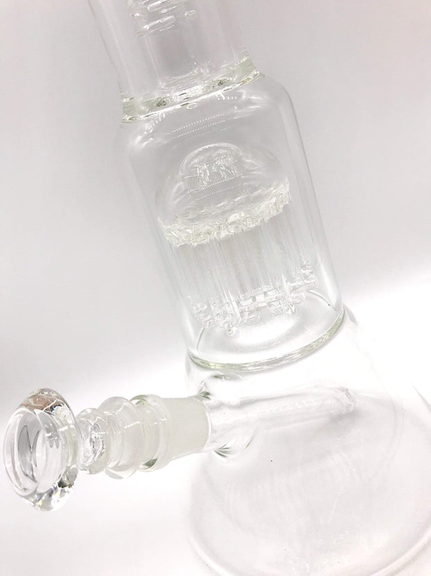 Smoke Station Water Pipe Clear HBG Water Pipe American Glass