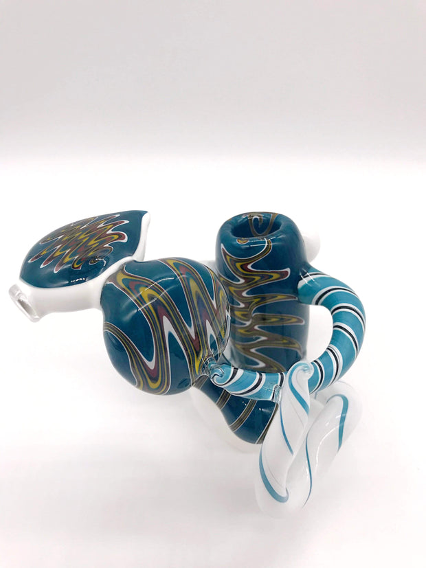 Smoke Station Water Pipe Heady American Wigwag Bubbler