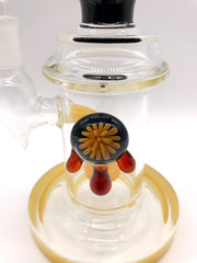 Smoke Station Water Pipe Heady Water Pipe with Showerhead Perc