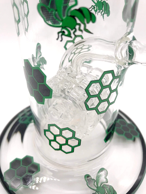 Smoke Station Water Pipe Honeybee Water Pipe with Barrel Perc