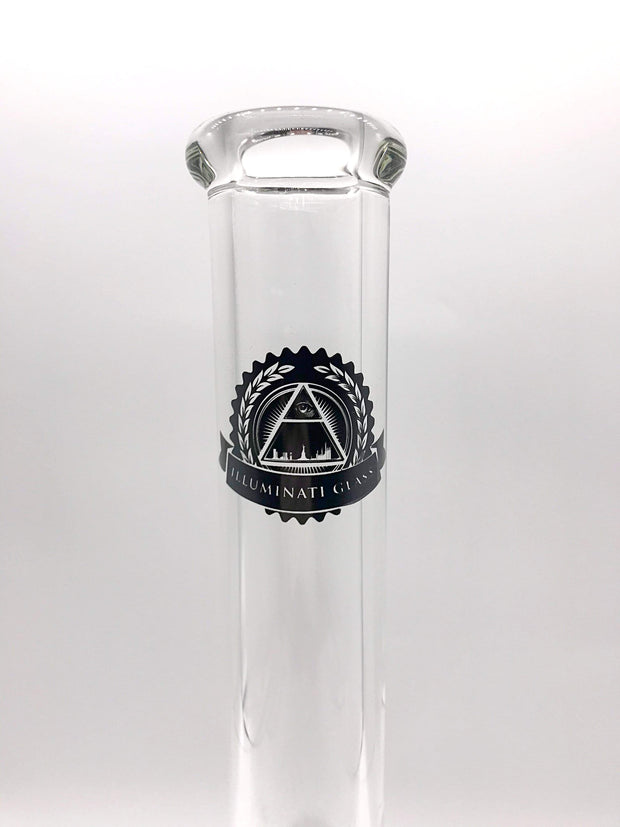 Smoke Station Water Pipe Illuminati Thick American Glass