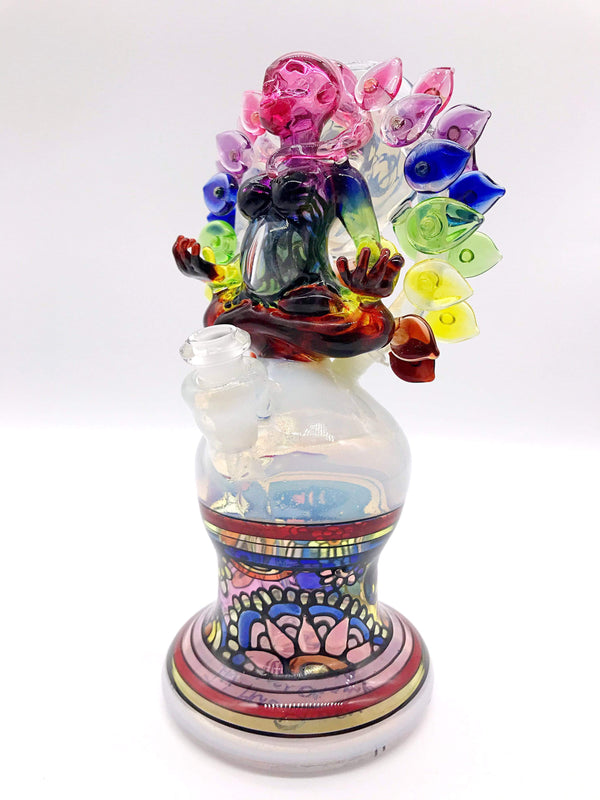 "Smoke Station Water Pipe ""In Her Peace"" ""In Her Peace"" 2019 Summer CHAMPS Glass Games Winner by Shayla Behrman"