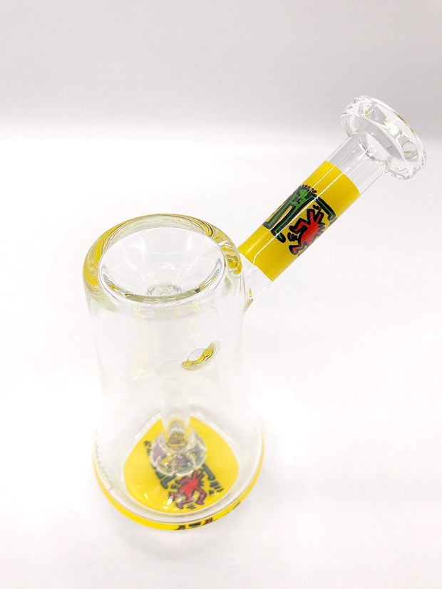 Smoke Station Water Pipe Keith Haring Borosilicate Bubblers