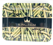 Smoke Station Accessories Green (10in x 7.5in) King Palm Rolling Tray