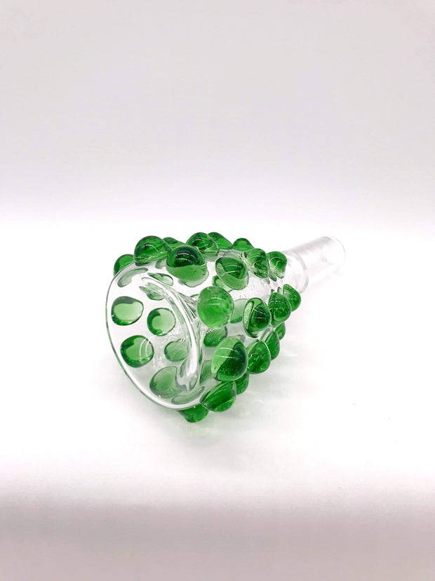 Smoke Station Waterpipe Bowl Large Waterpipe Bowl with Textured Bubbles - 14mm