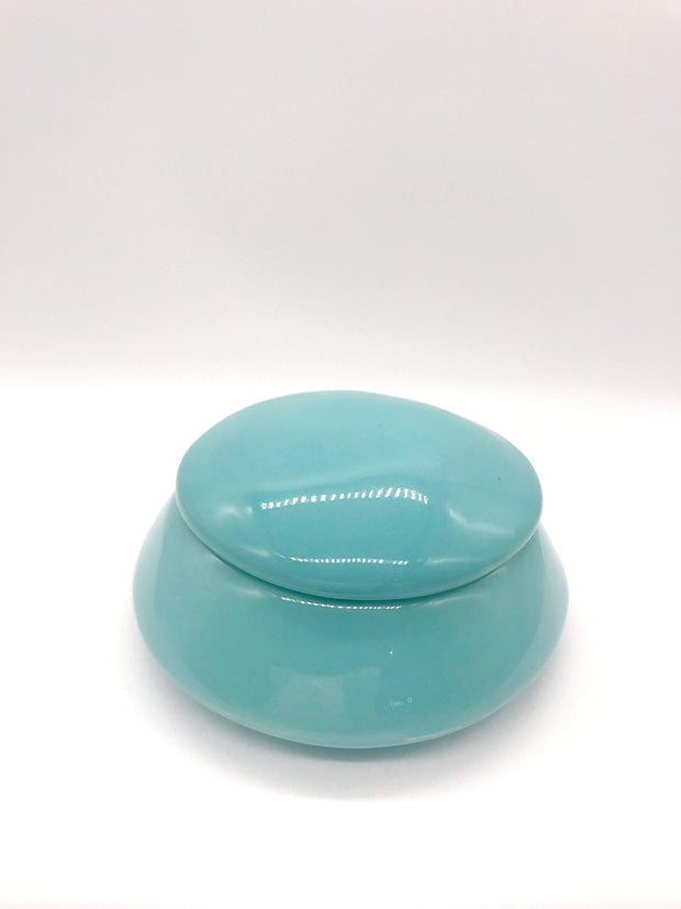 Smoke Station Accessories Teal My Bud Vase™ ⬜ Dome Ceramic Stash Jars
